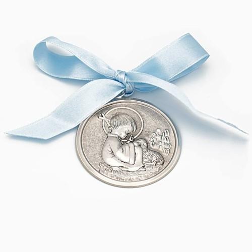 Medalla de cuna con el Niño Jesús - 1